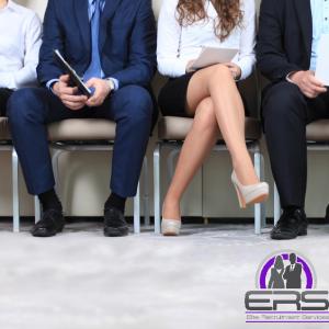 Candidates awaiting a job interview